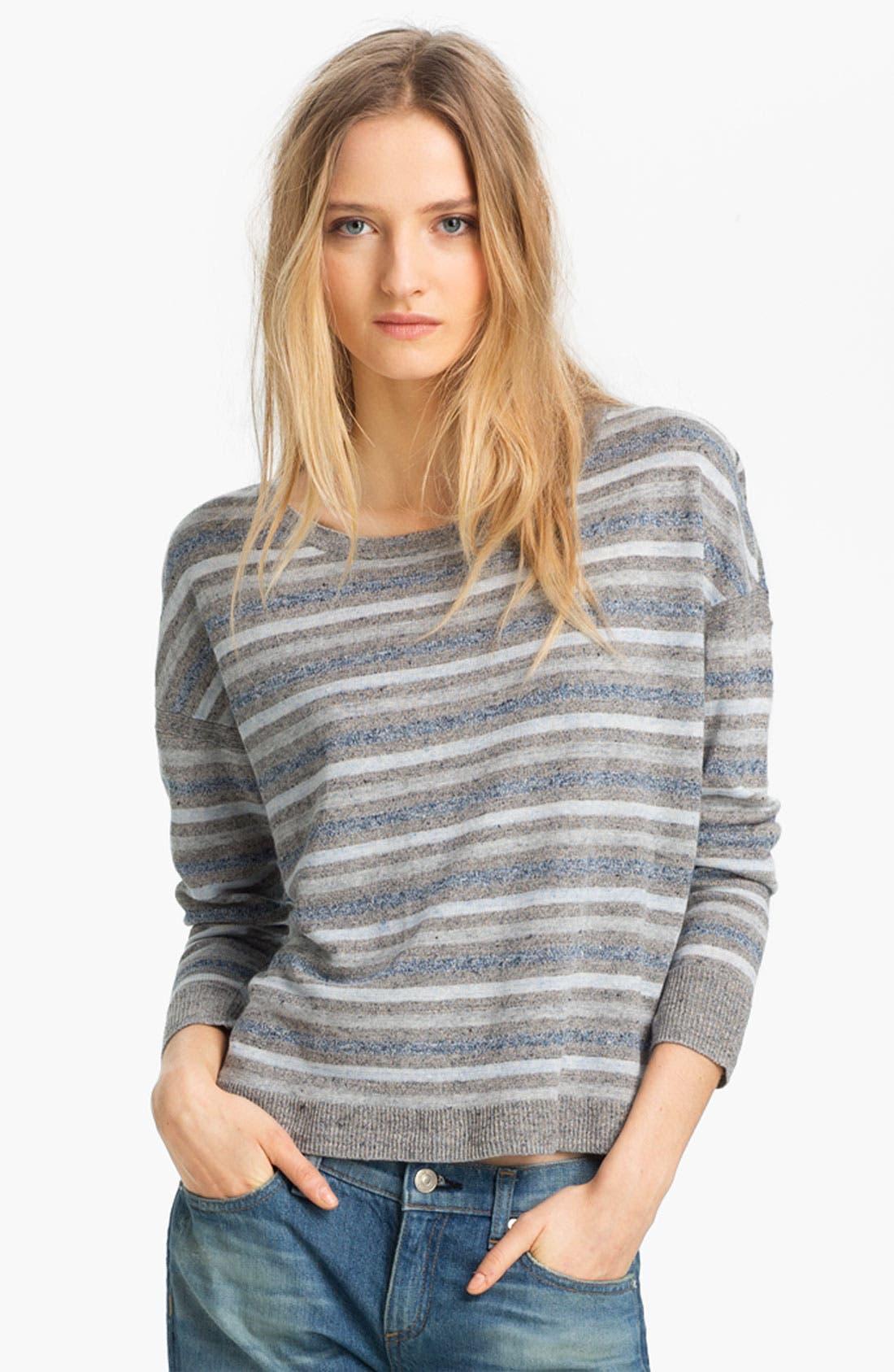 Alternate Image 1 Selected - rag & bone 'Sierra' Linen Pullover