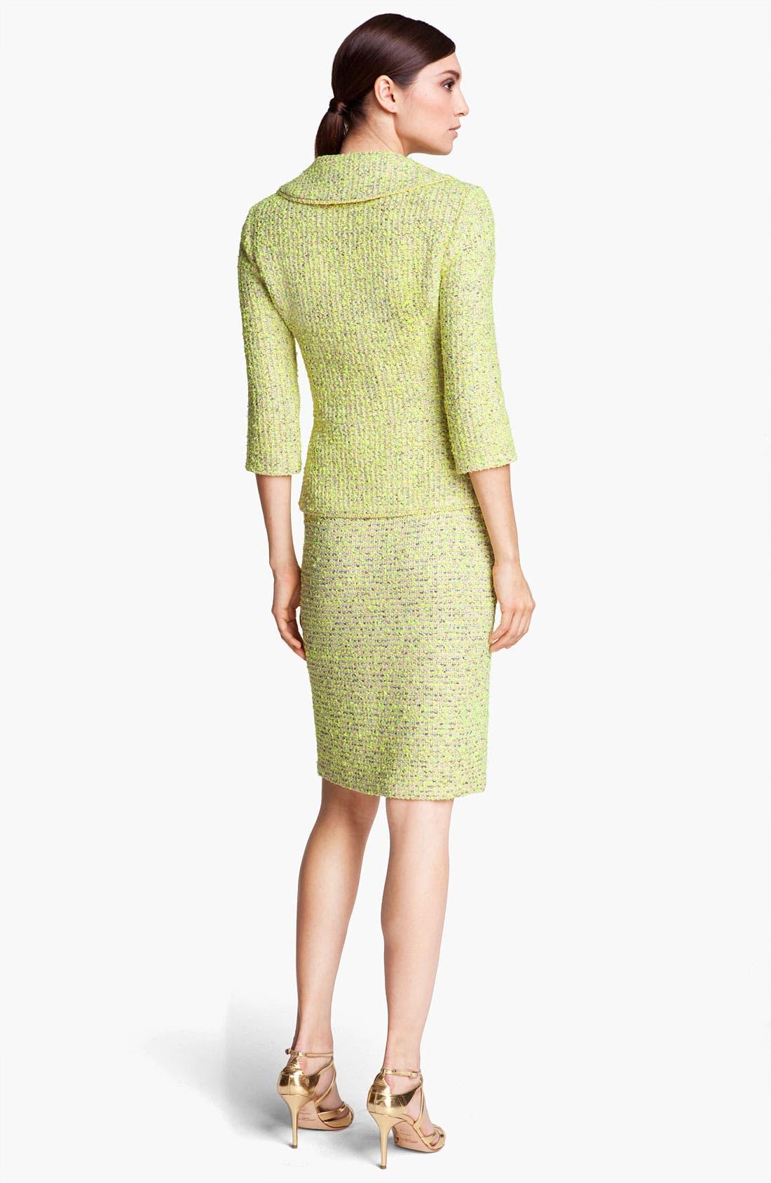 Alternate Image 3  - St. John Collection 'Park Lane' Tweed Skirt