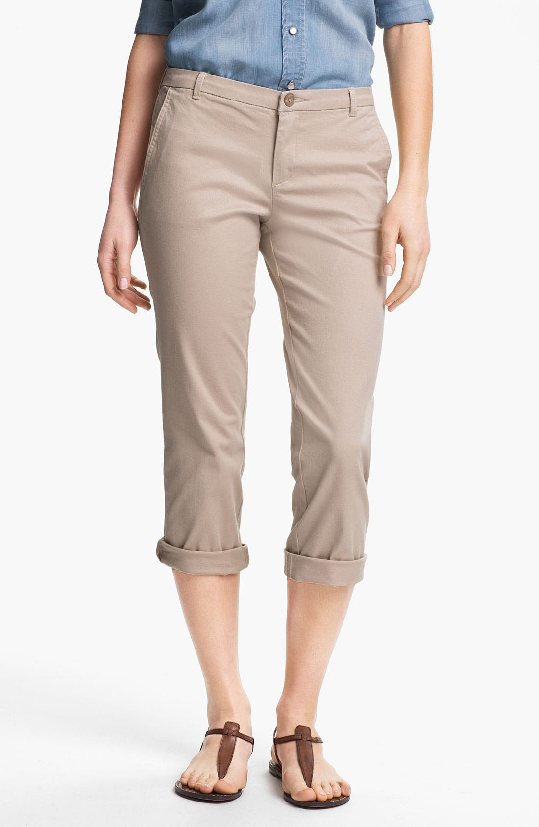 Main Image - KUT from the Kloth 'Gwen' Twill Pants