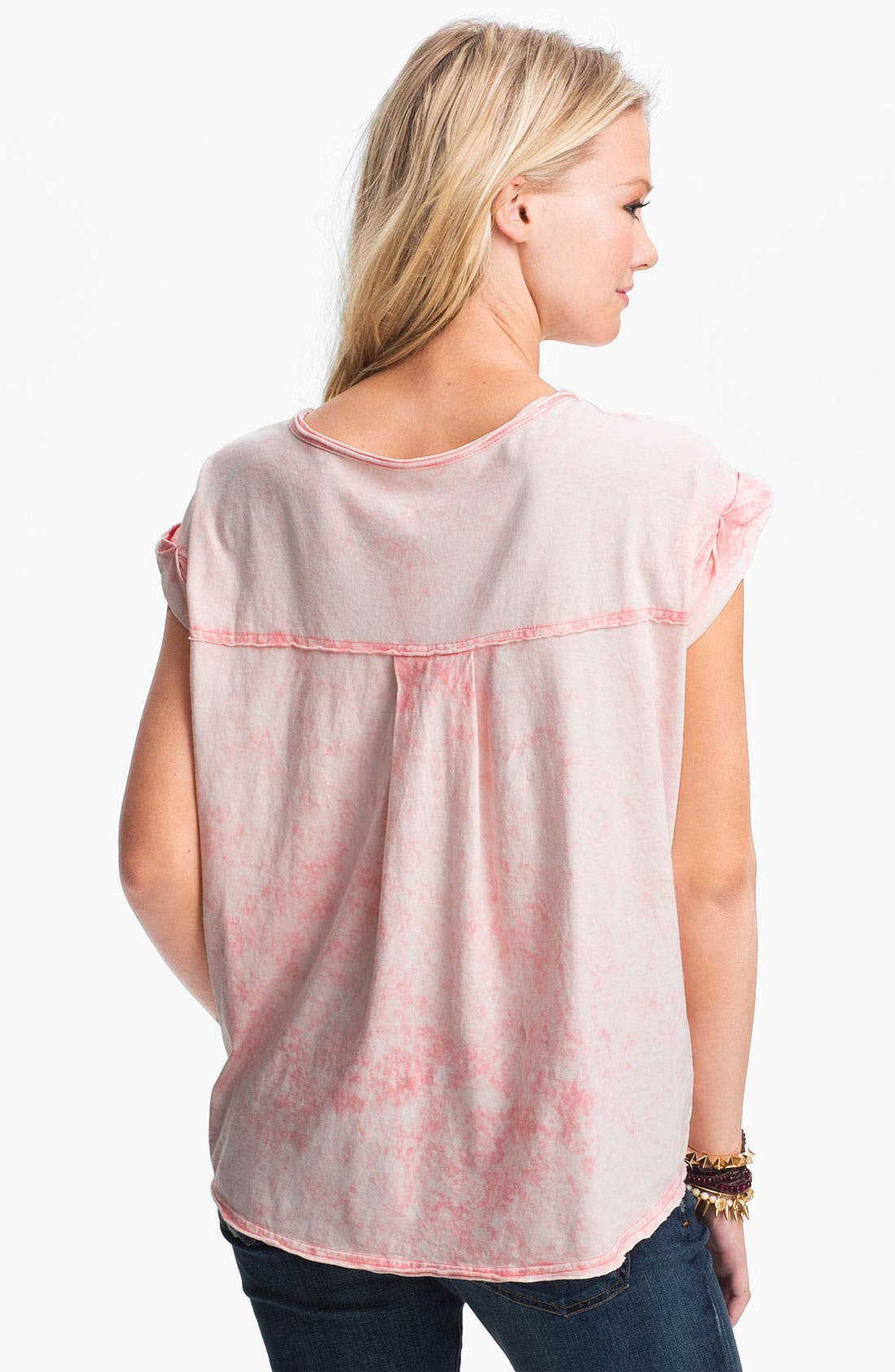 Alternate Image 2  - Free People 'Keep Me' Oversize Acid Wash Tee