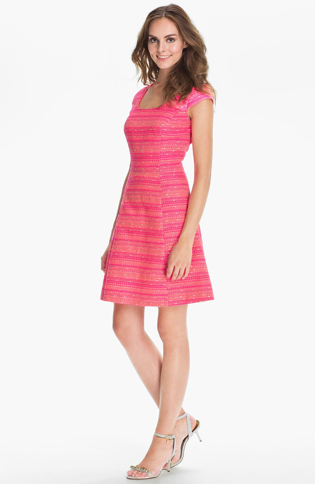 Alternate Image 1 Selected - Lilly Pulitzer® 'Rylan' Stripe Fit & Flare Dress