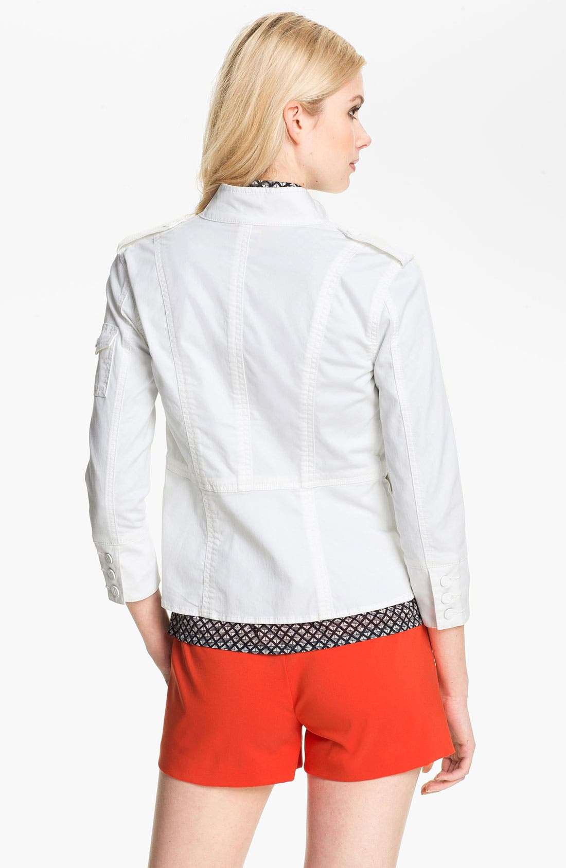 Alternate Image 2  - Tory Burch Three Quarter Sleeve Jacket