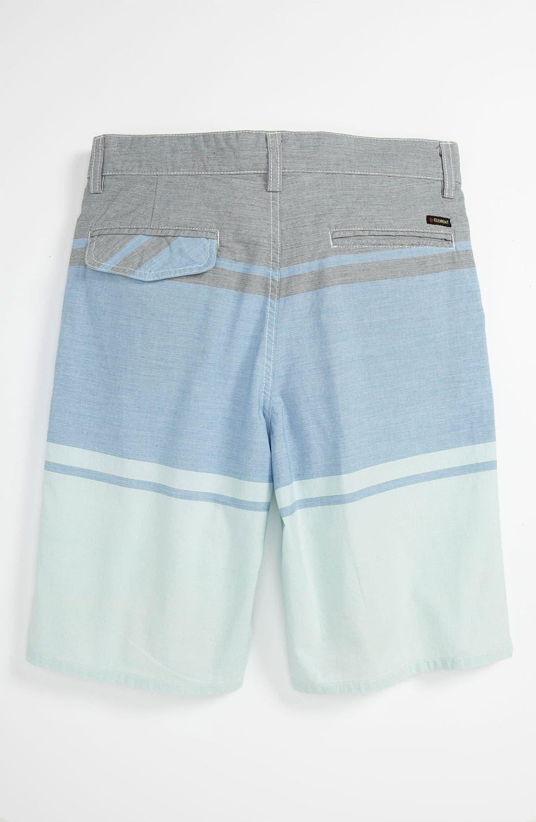 Alternate Image 2  - Element 'Alex' Yarn Dyed Shorts (Big Boys)