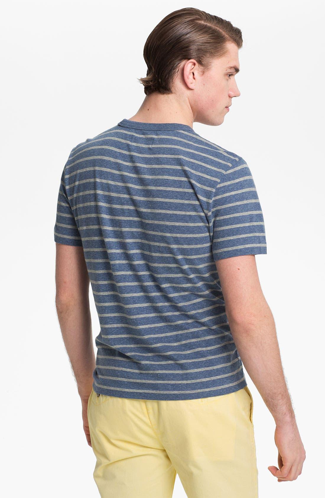Alternate Image 2  - Jack Spade 'Calvin' Stripe Pocket T-Shirt