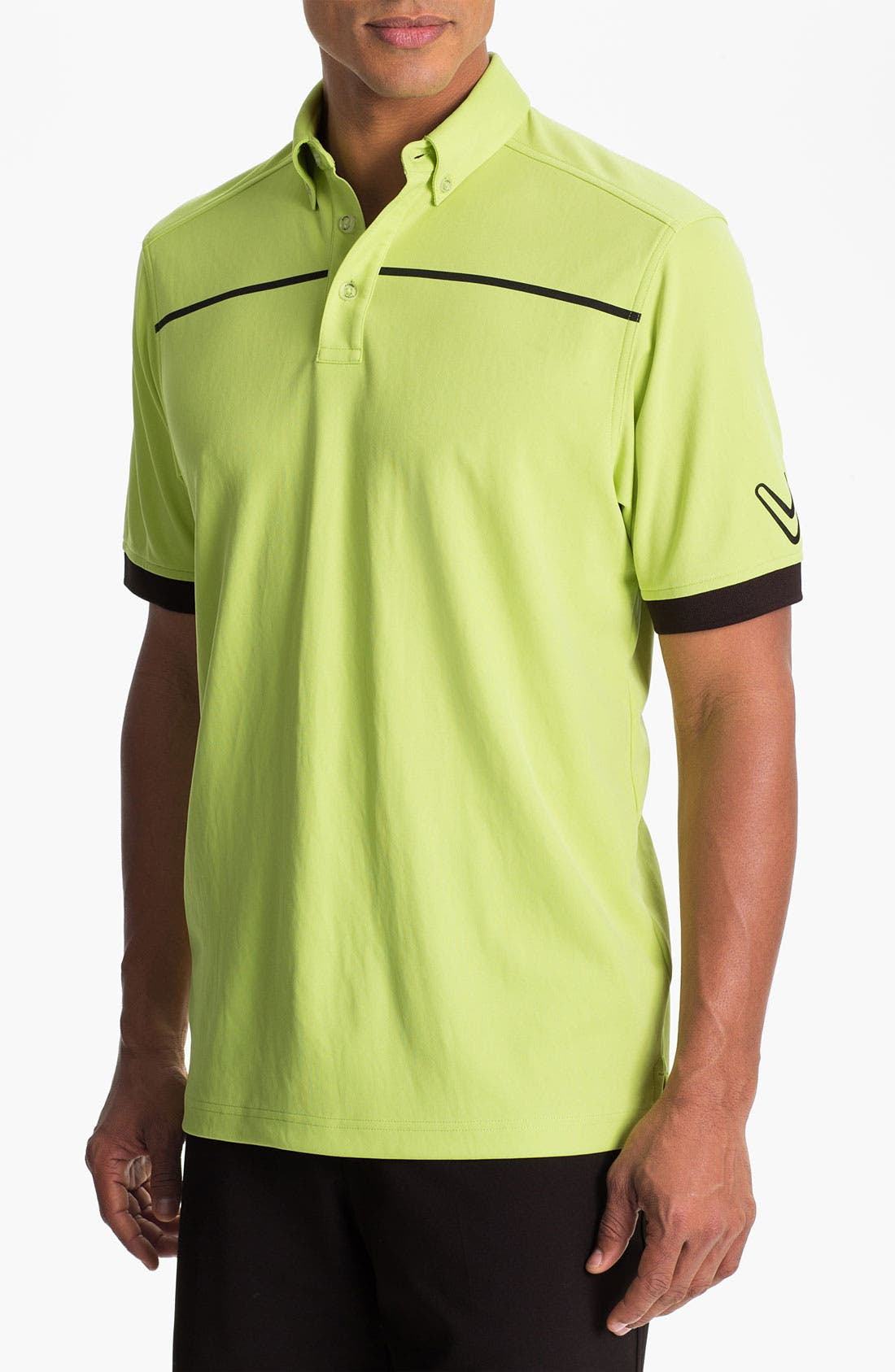Alternate Image 1 Selected - Callaway Golf® Stripe Regular Fit Polo
