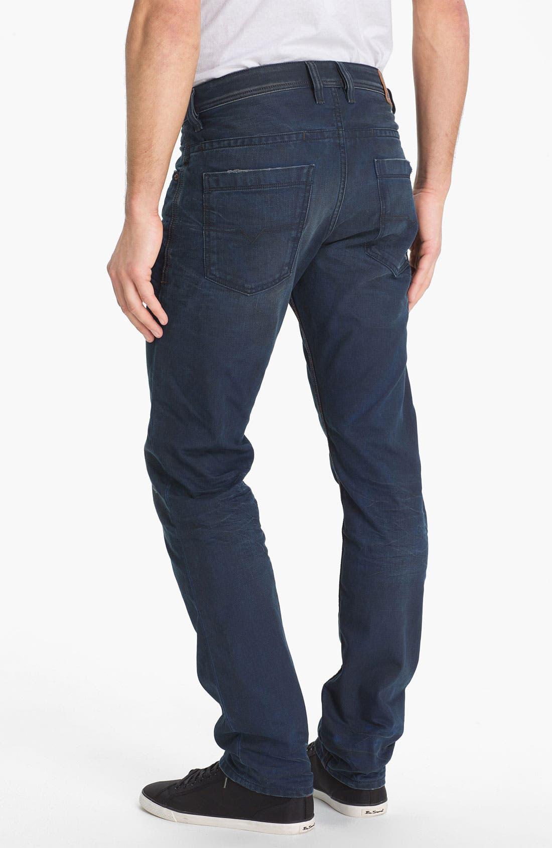 Alternate Image 1 Selected - DIESEL® 'Braddom' Slim Tapered Leg Jeans (0811K)