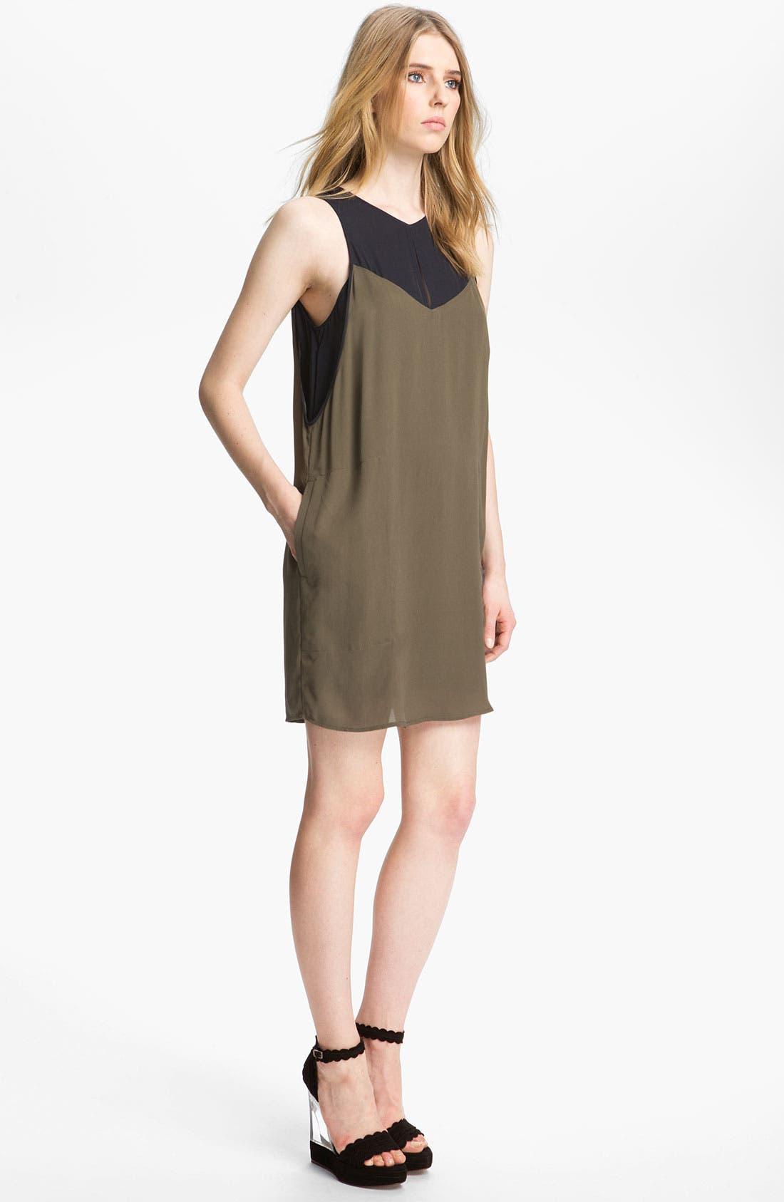 Alternate Image 3  - A.L.C. 'Camille' Silk Dress