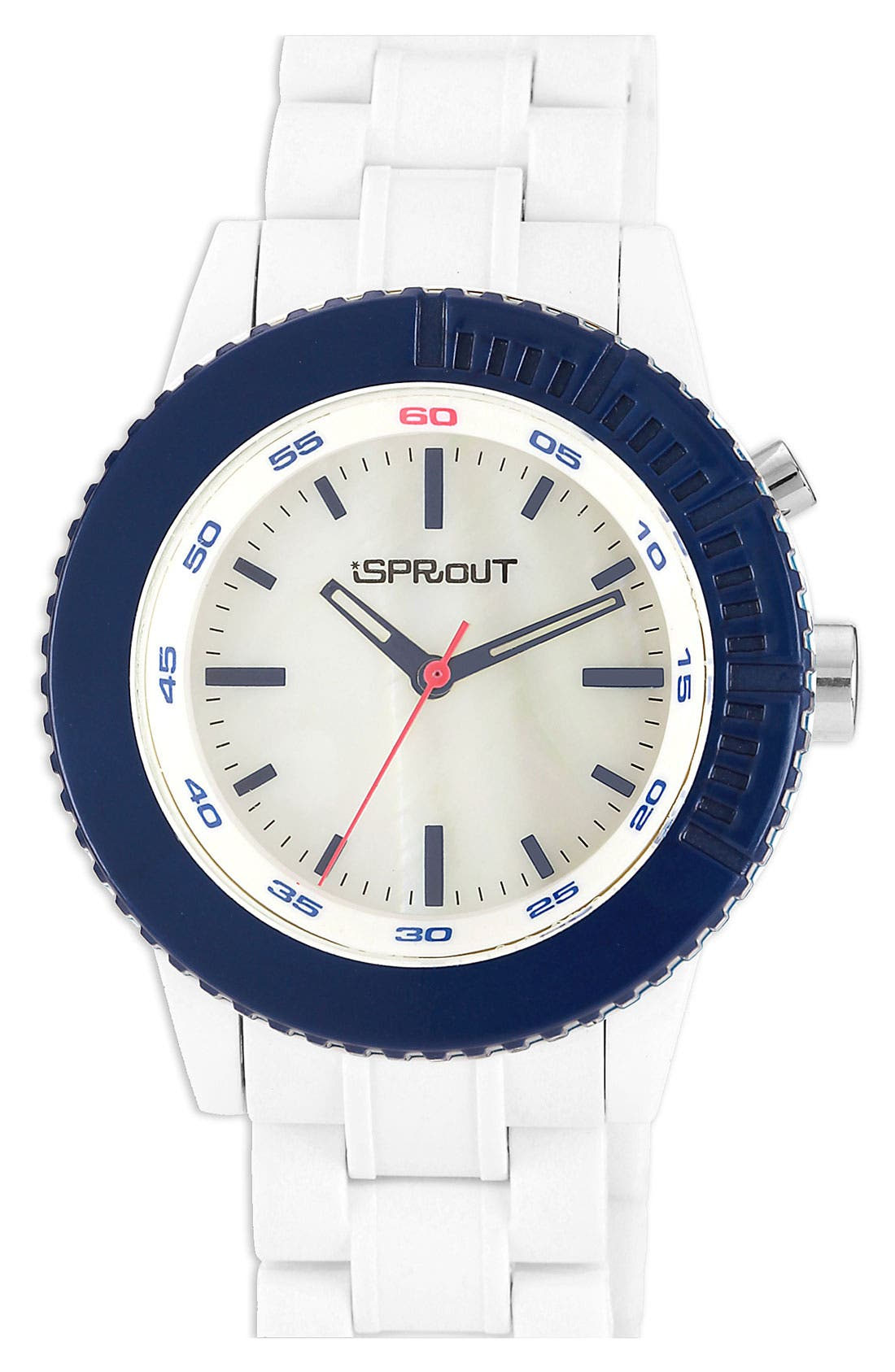 Main Image - SPROUT™ Watches Color Bezel Bracelet Watch, 45mm