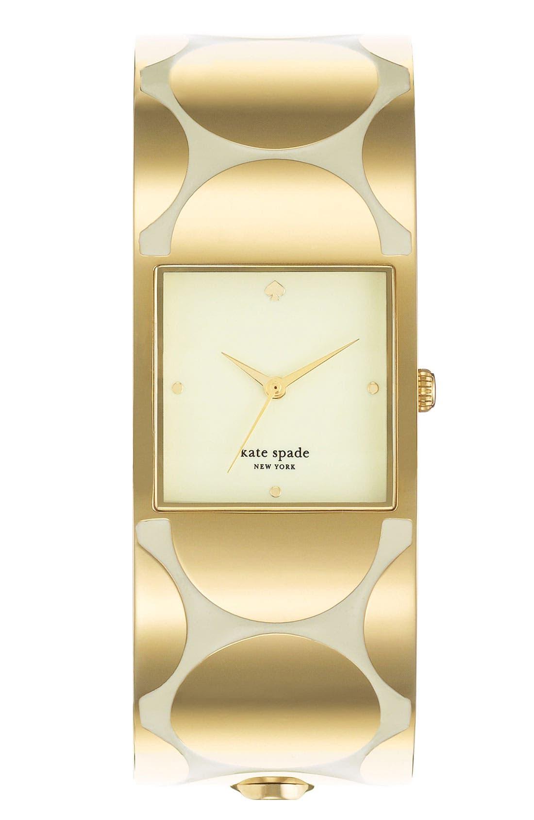 Alternate Image 1 Selected - kate spade new york 'delacorte' bangle watch