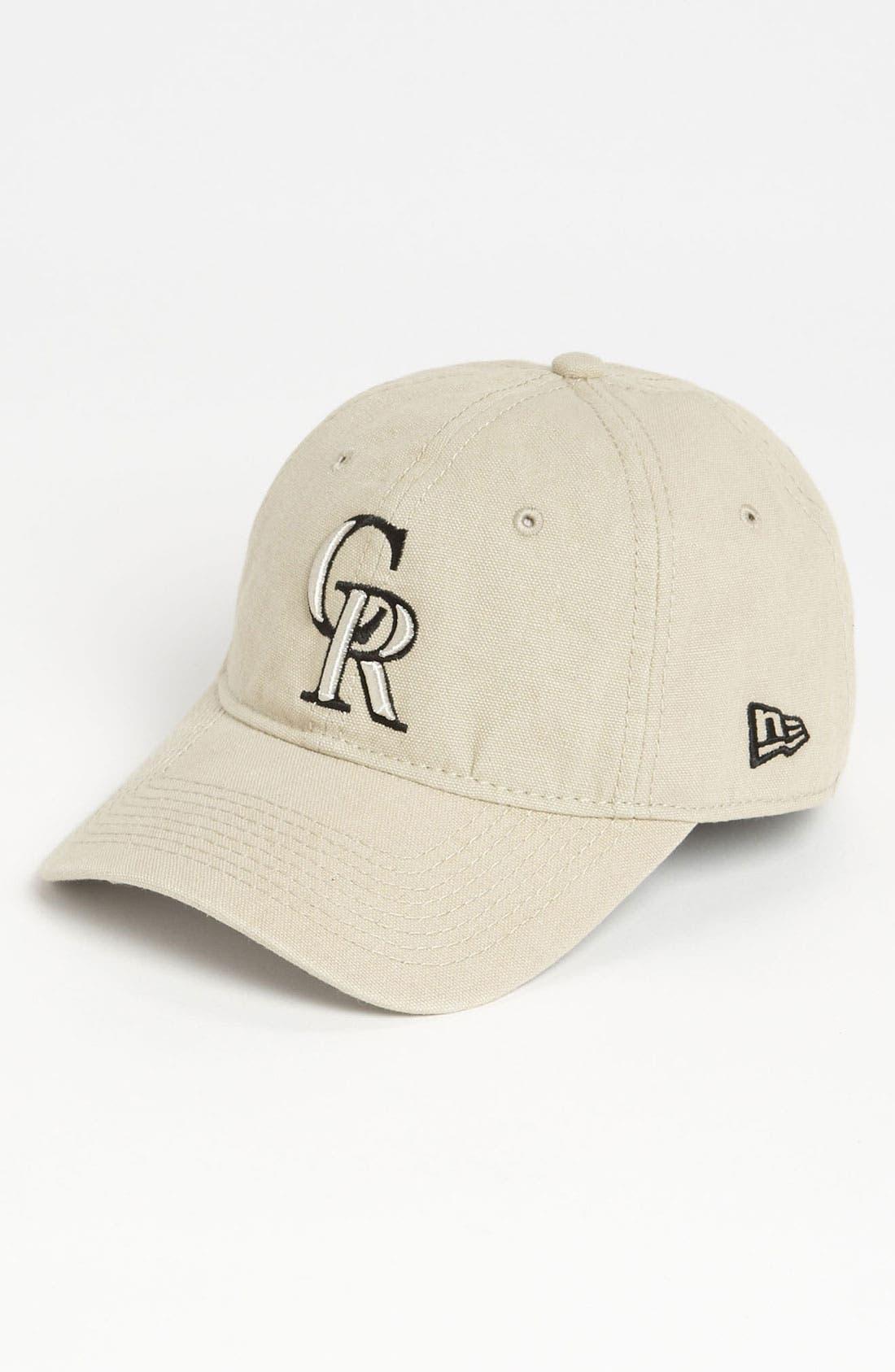 Alternate Image 1 Selected - New Era Cap 'Shoreline - Colorado Rockies' Baseball Cap