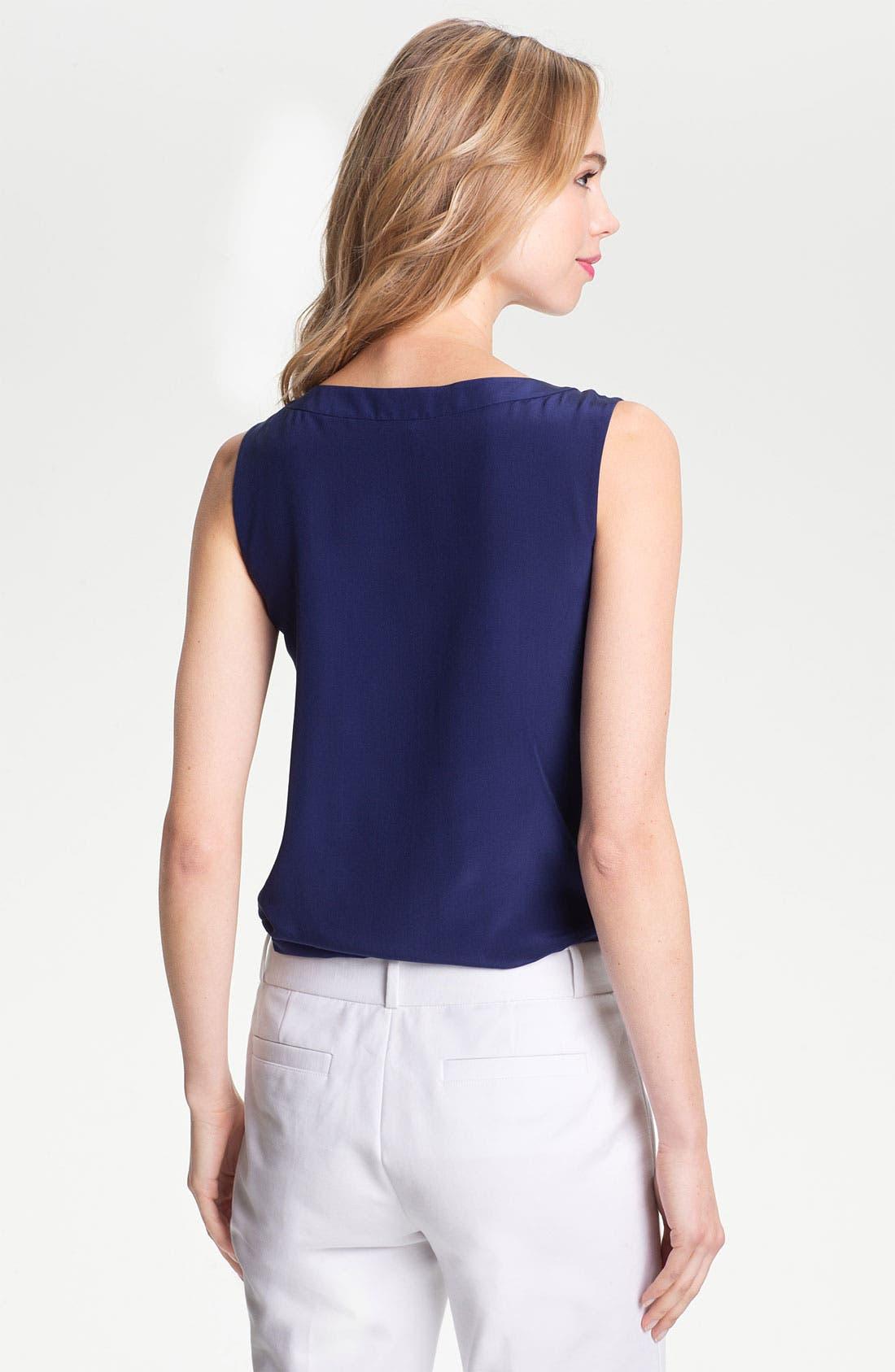 Alternate Image 2  - kate spade new york 'addie' silk blouse