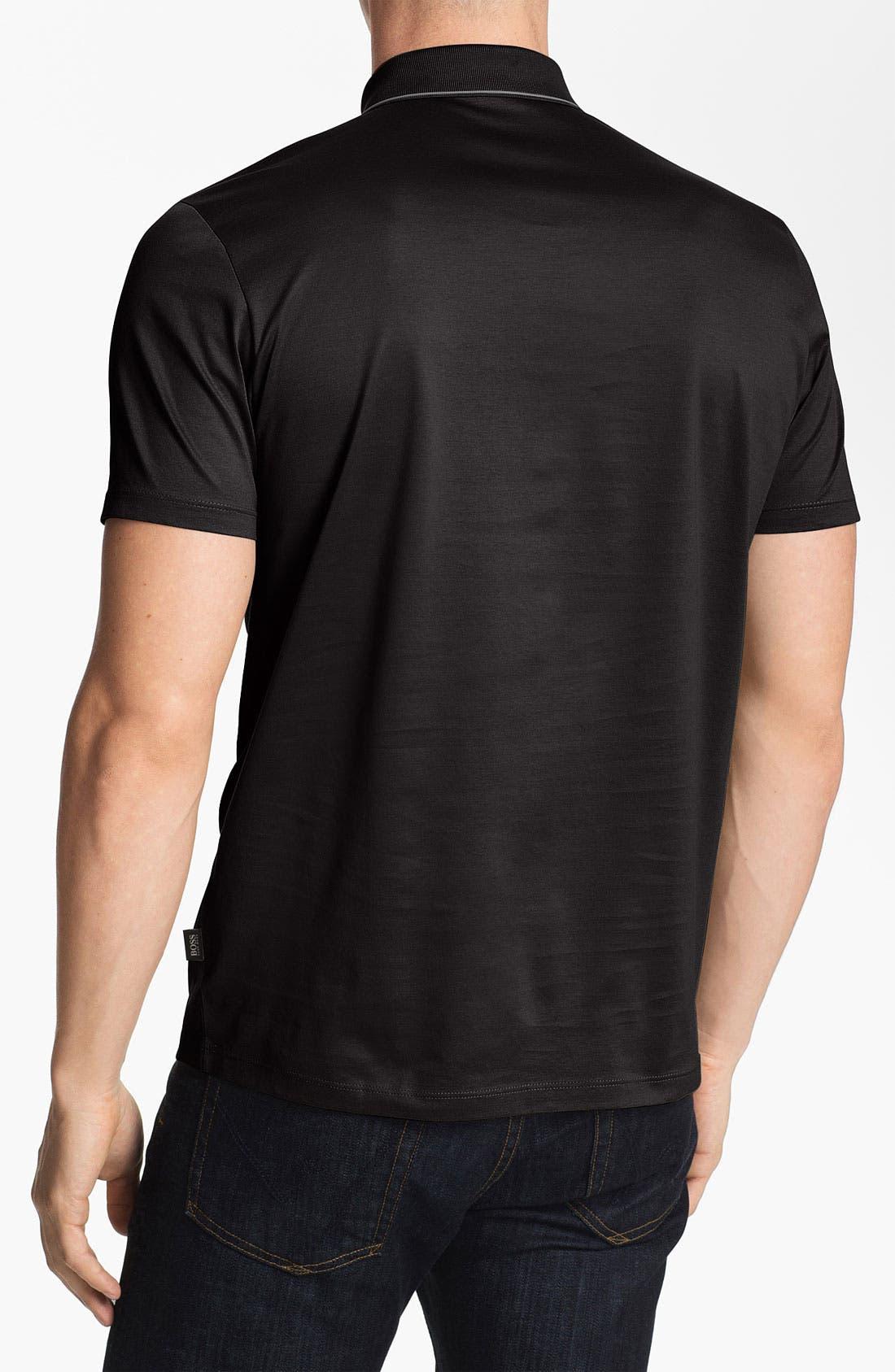 Alternate Image 2  - BOSS Black 'Fino 22' Trim Fit Polo