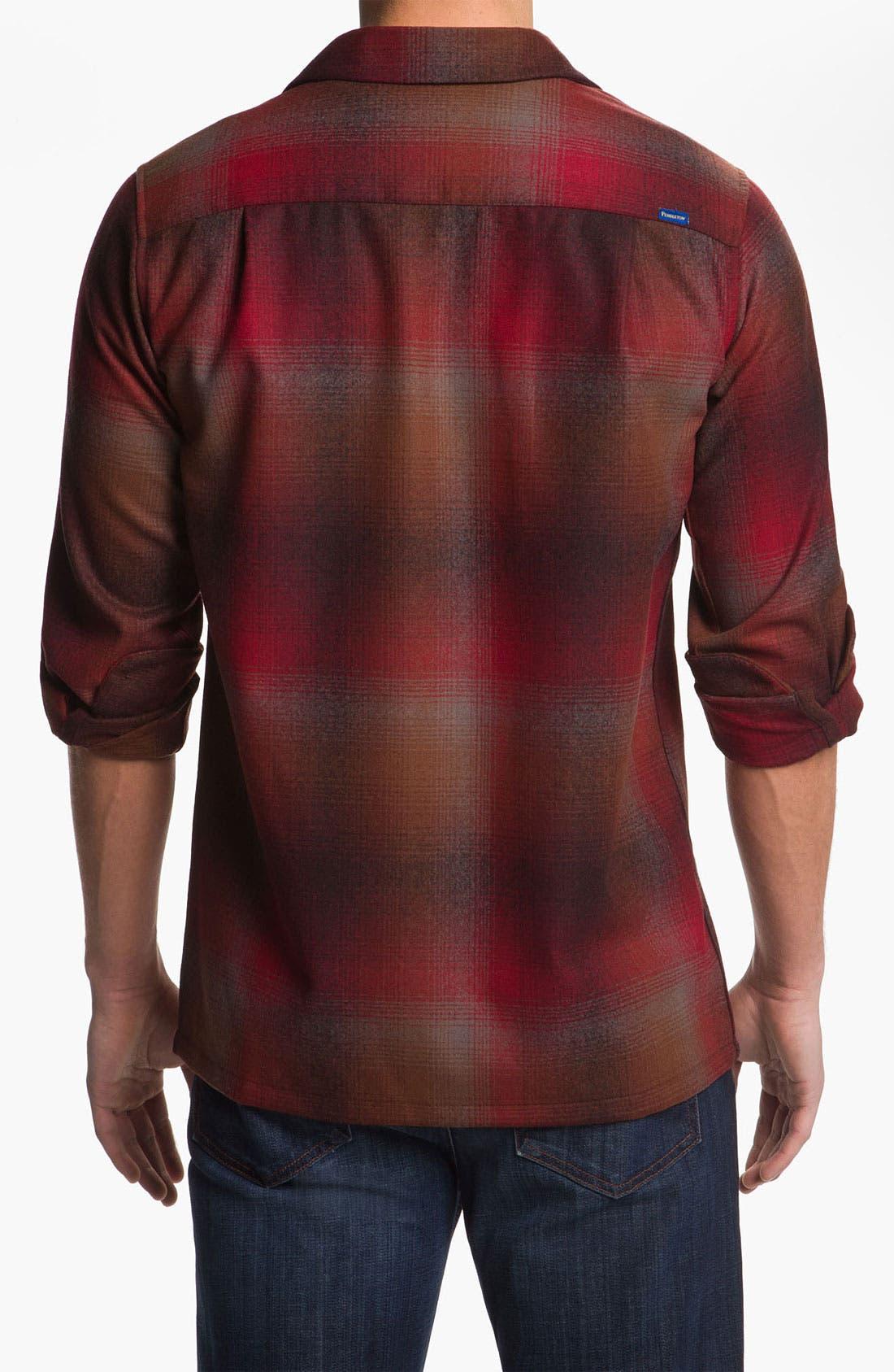 Alternate Image 2  - Pendleton Fitted Wool Shirt