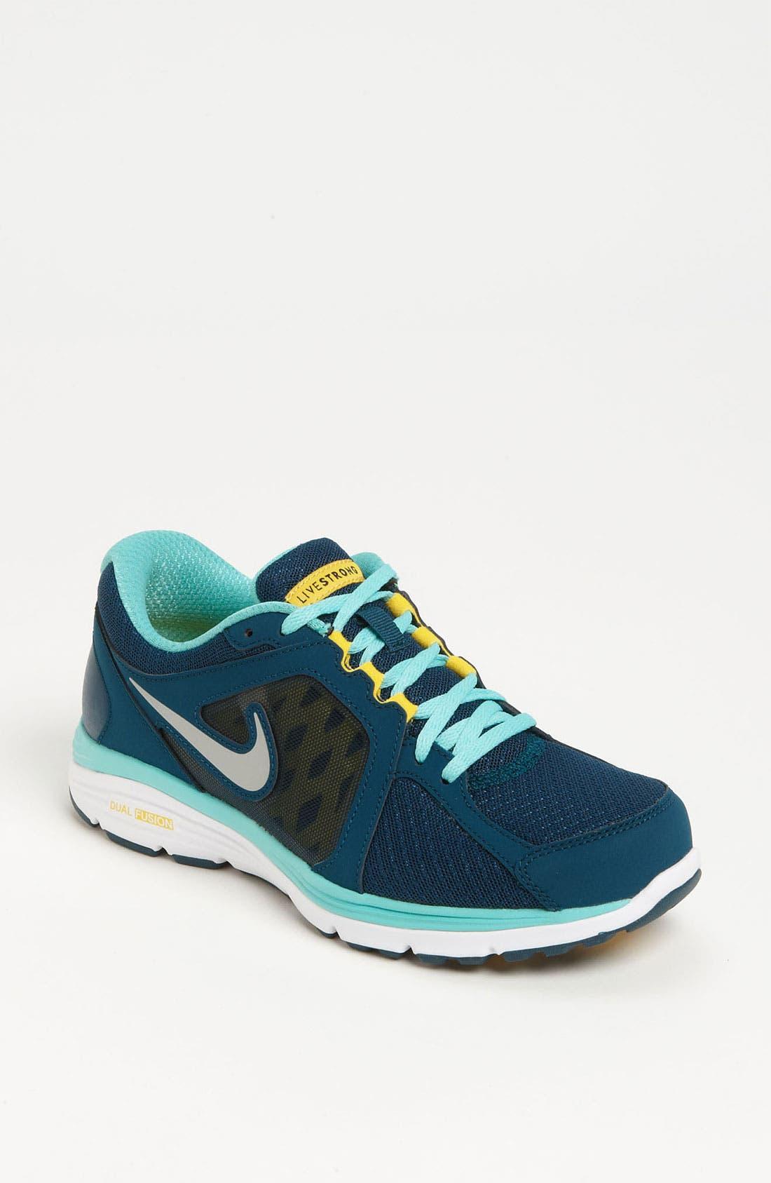 Alternate Image 1 Selected - Nike 'Dual Fusion Run Livestrong' Running Shoe (Women)