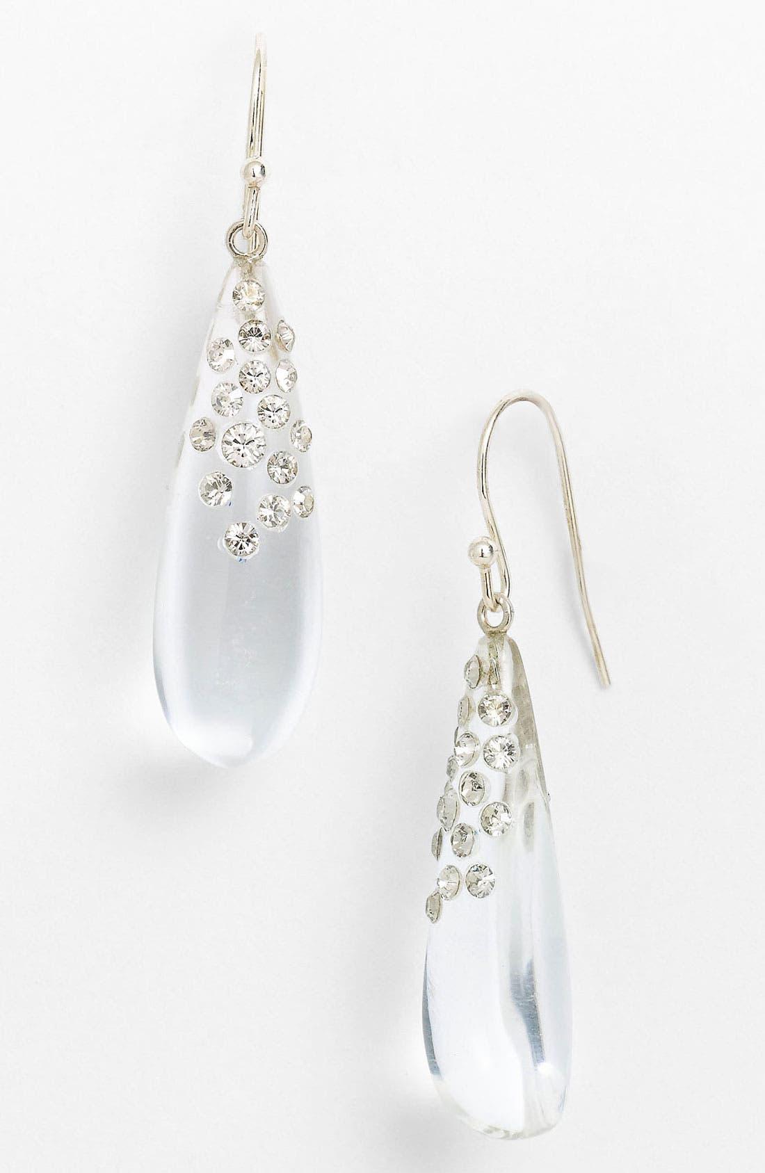 Alternate Image 1 Selected - Alexis Bittar 'Lucite® - Dust' Long Raindrop Earrings