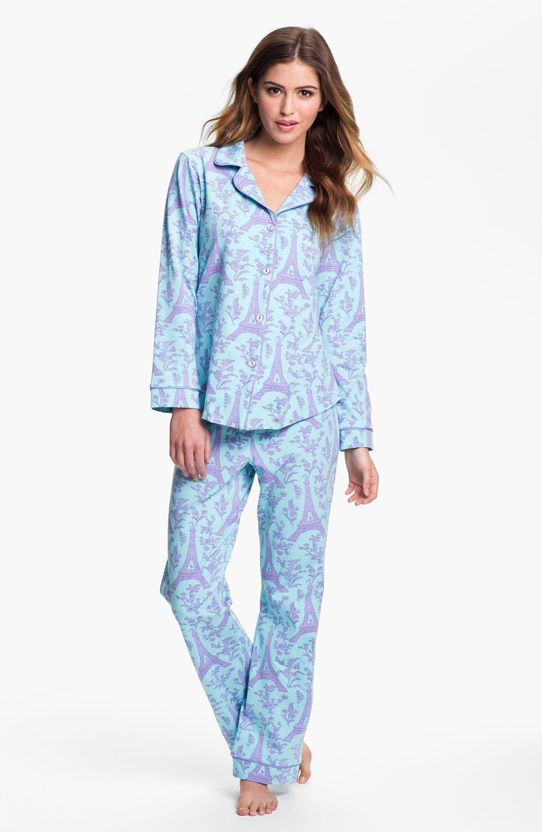 Alternate Image 1 Selected - BedHead Classic Knit Pajamas