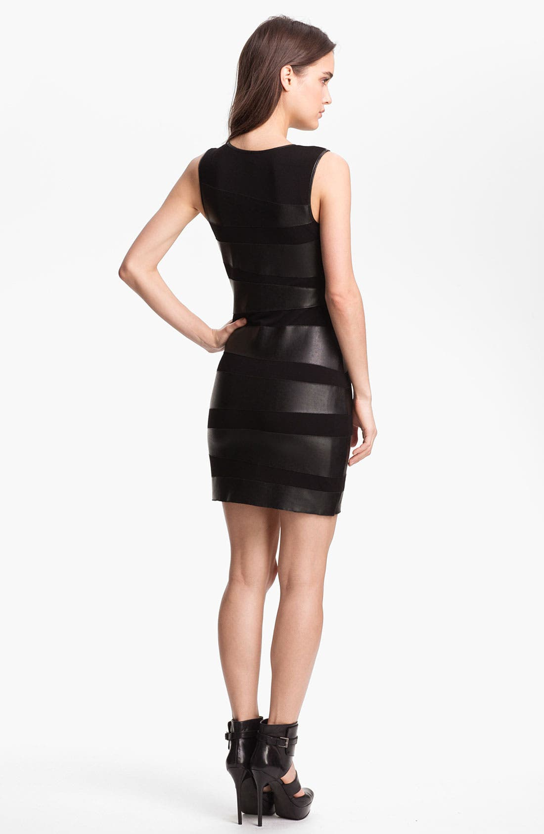 Alternate Image 2  - B44 Dressed by Bailey 44 'Toro' Faux Leather Bandage Dress