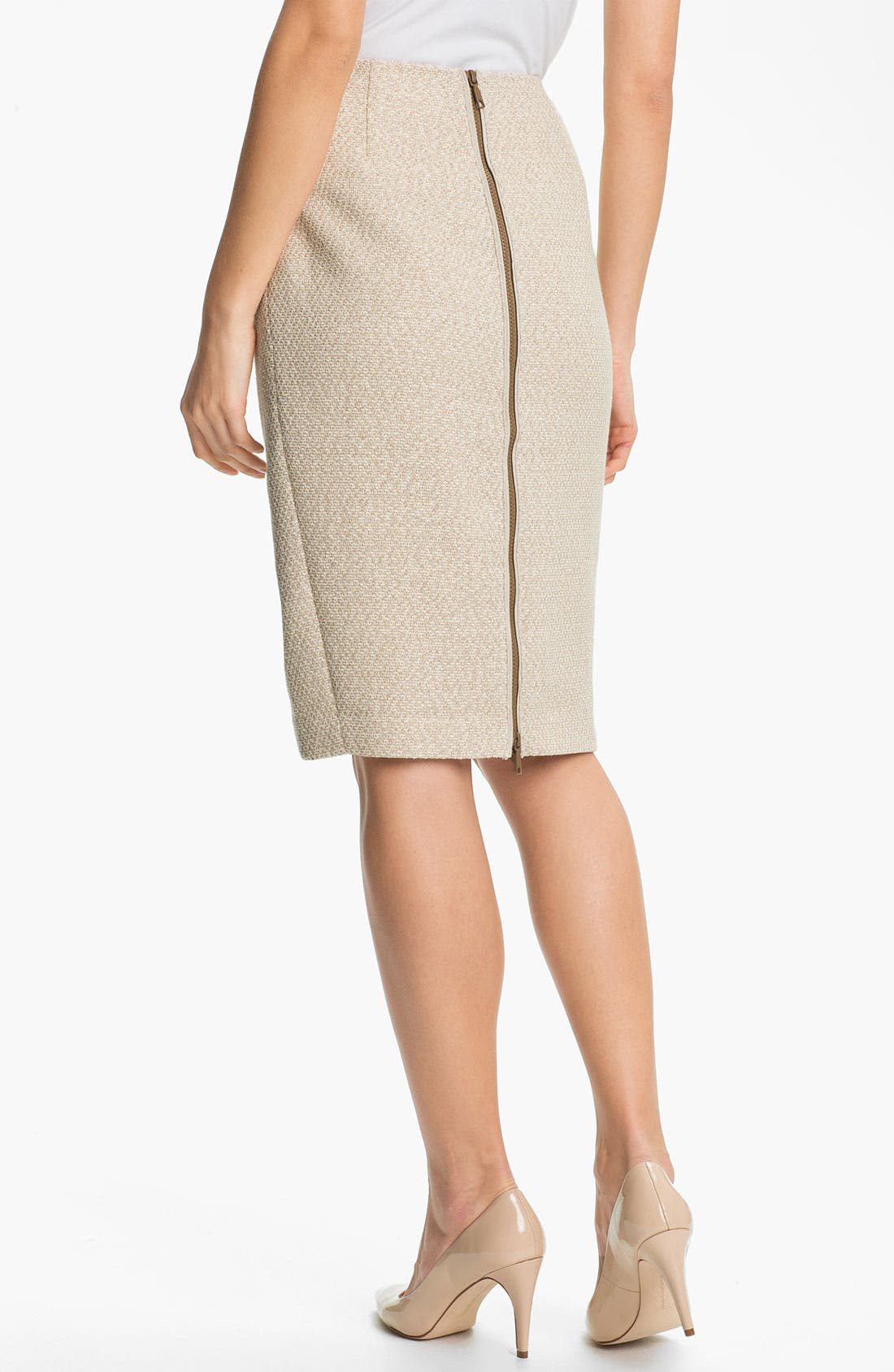 Alternate Image 2  - Lafayette 148 New York 'Arden - Sandalwood' Skirt
