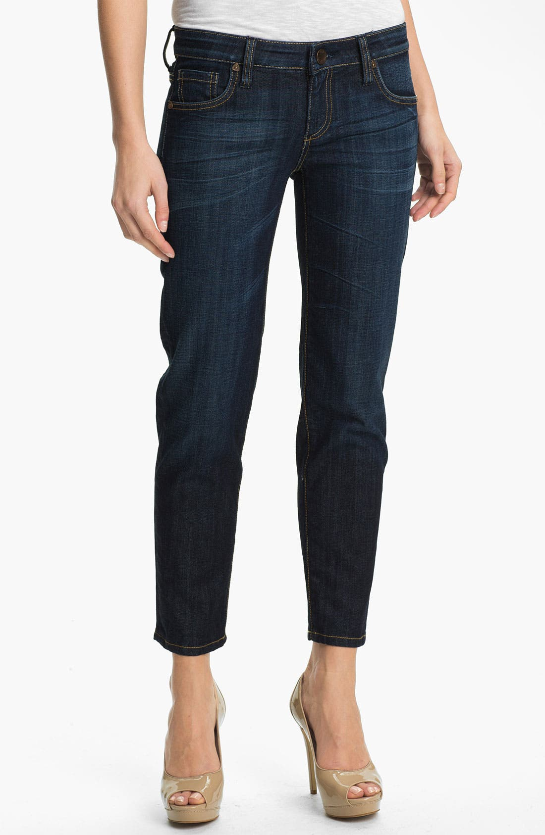 Alternate Image 1 Selected - KUT from the Kloth 'Audrey' Skinny Jeans (Positive)