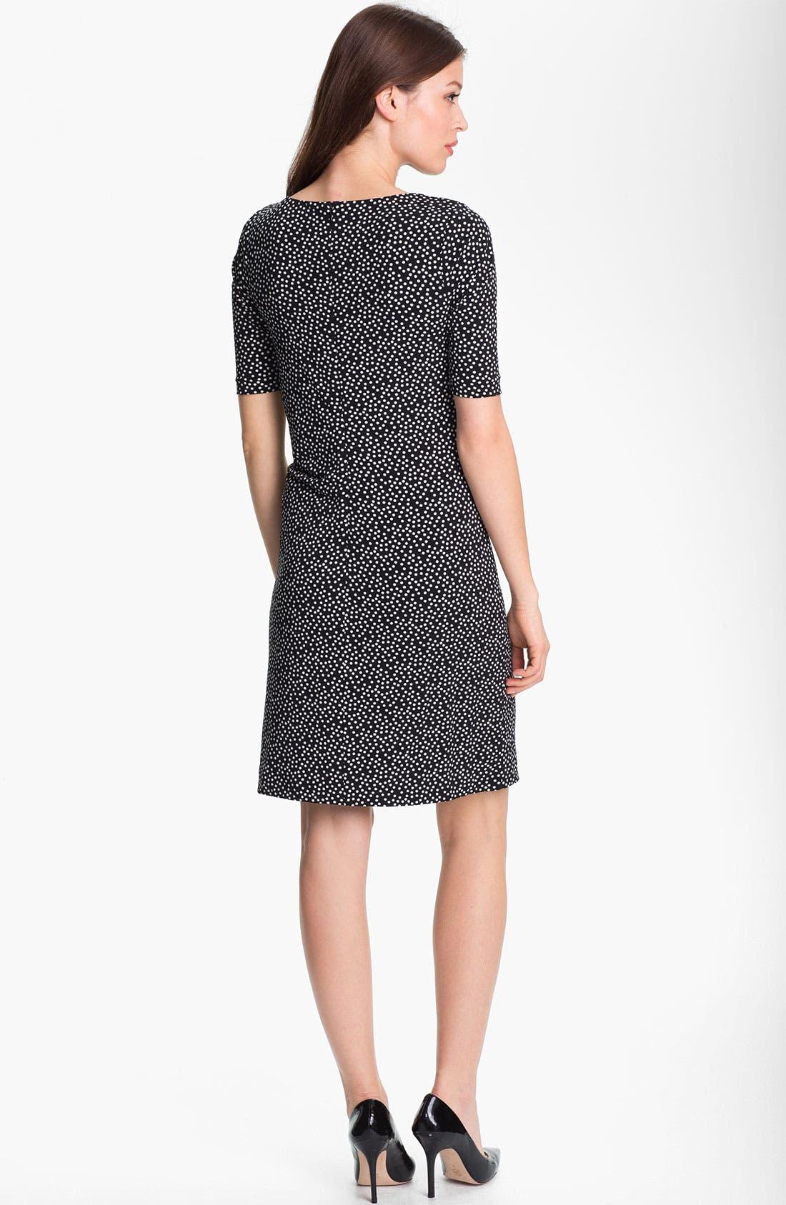 Alternate Image 2  - Chaus Dot Print Dress