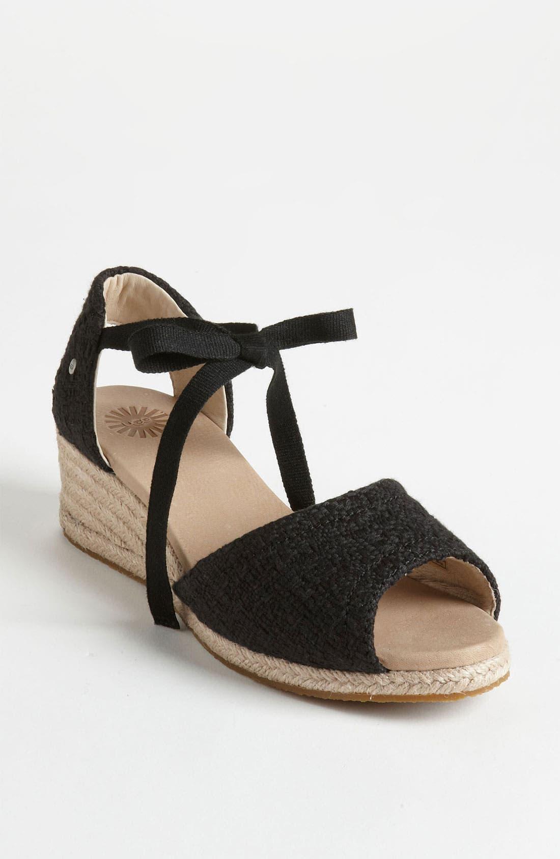 Alternate Image 1 Selected - UGG® Australia 'Delmar' Sandal
