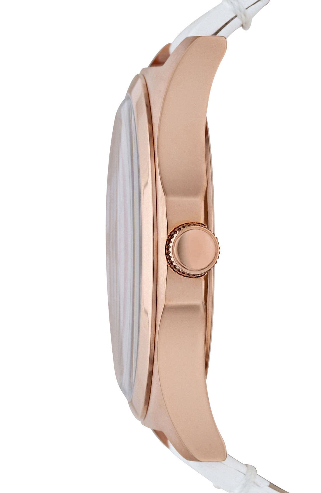 Alternate Image 2  - MARC JACOBS 'Henry' Leather Strap Watch