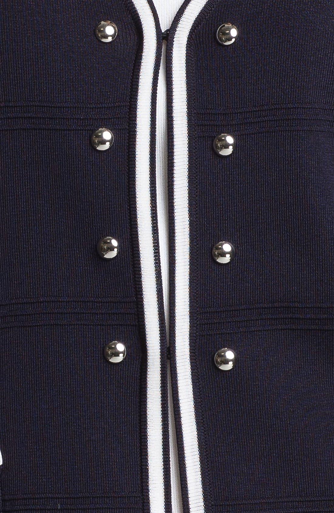 Alternate Image 3  - Ming Wang V-Neck Jacket