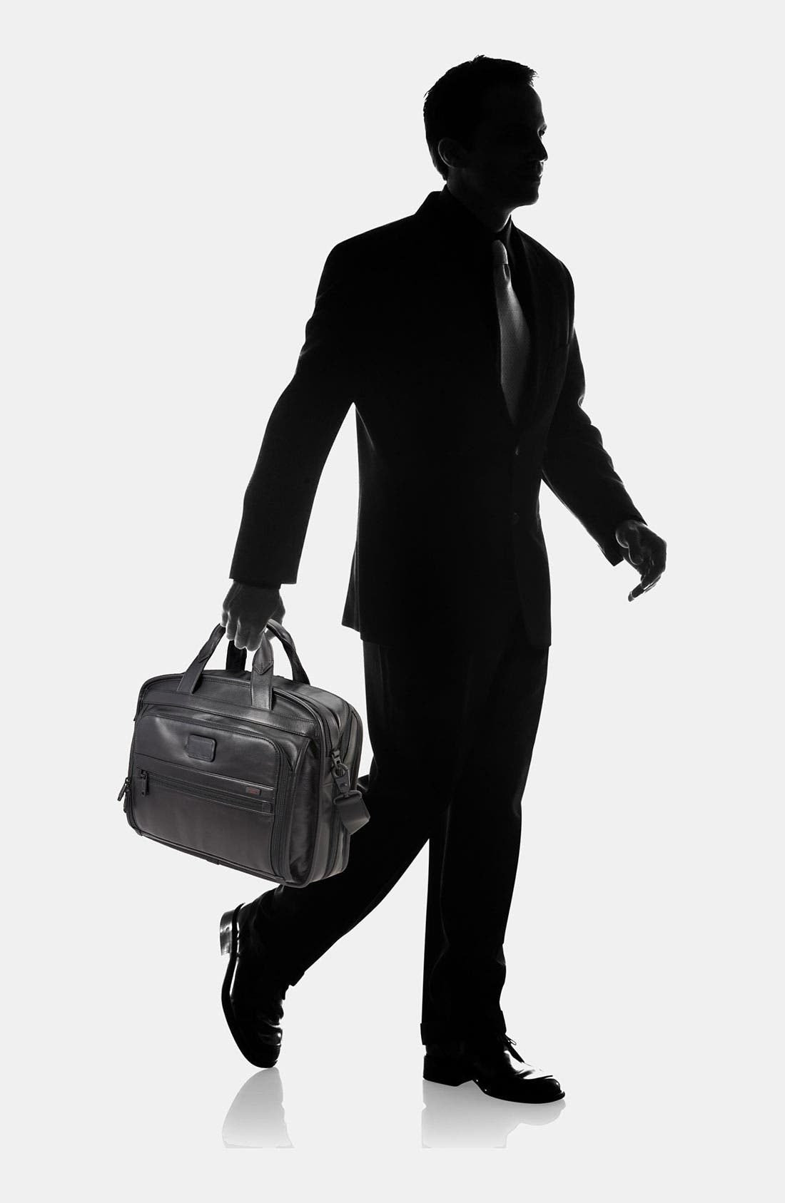 Alternate Image 6  - Tumi 'Alpha' Leather Organizer Briefcase