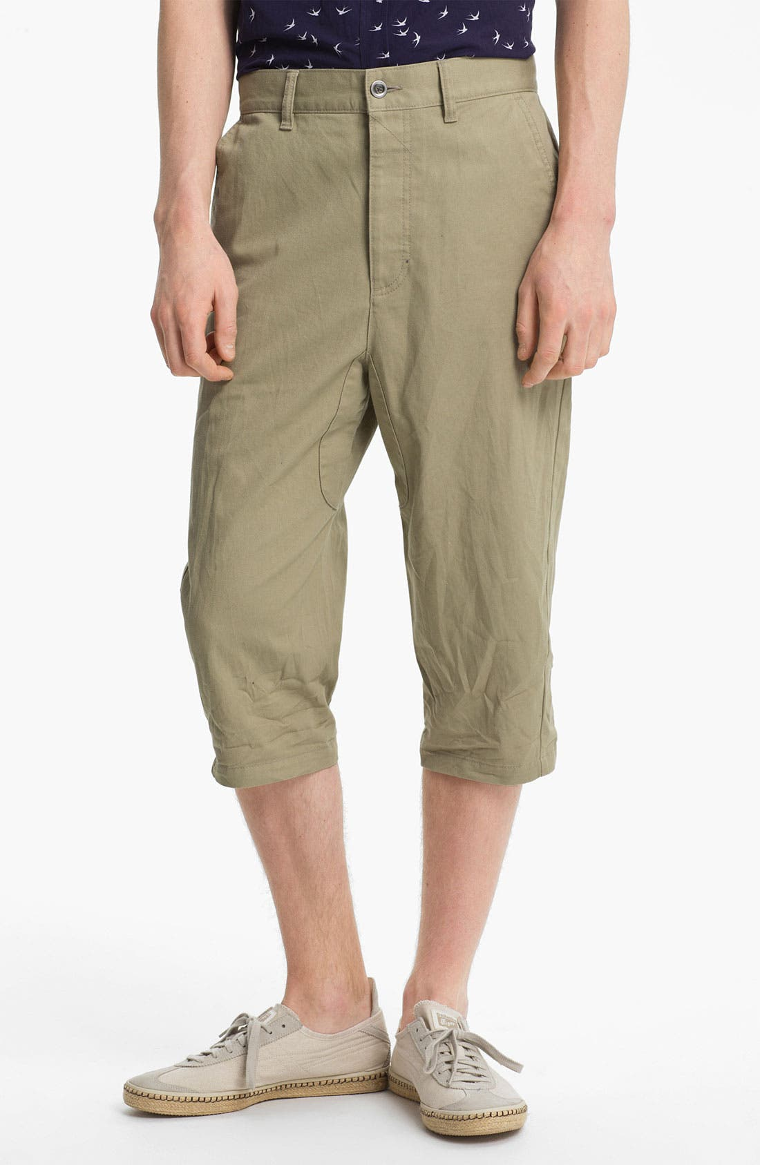 Alternate Image 1 Selected - Topman Cropped Pants