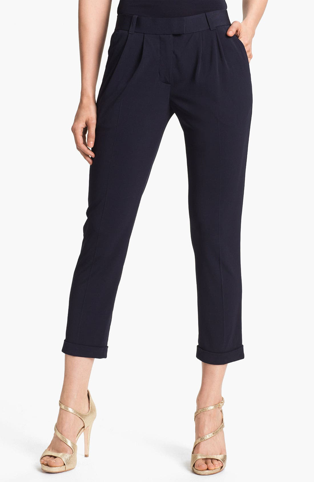 Alternate Image 1 Selected - Tory Burch 'Haley' Crop Pants