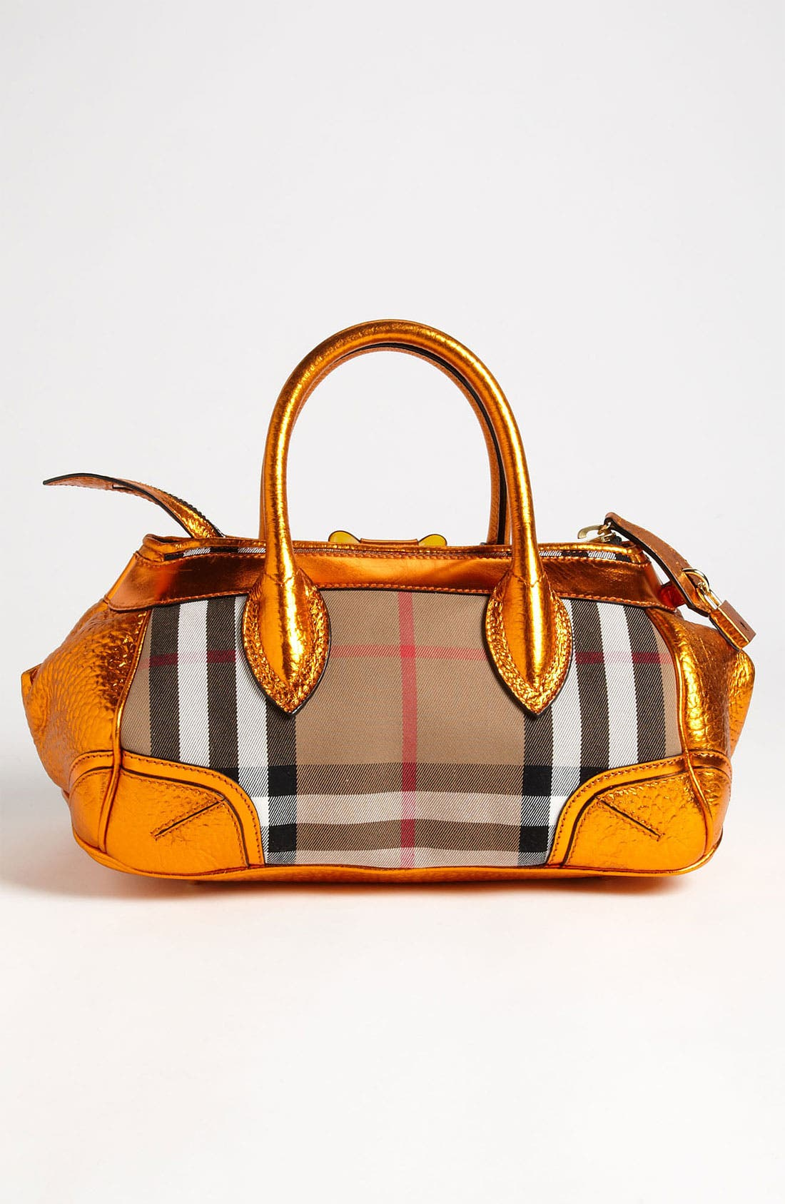 Alternate Image 4  - Burberry Prorsum 'Blaze' House Check Handbag