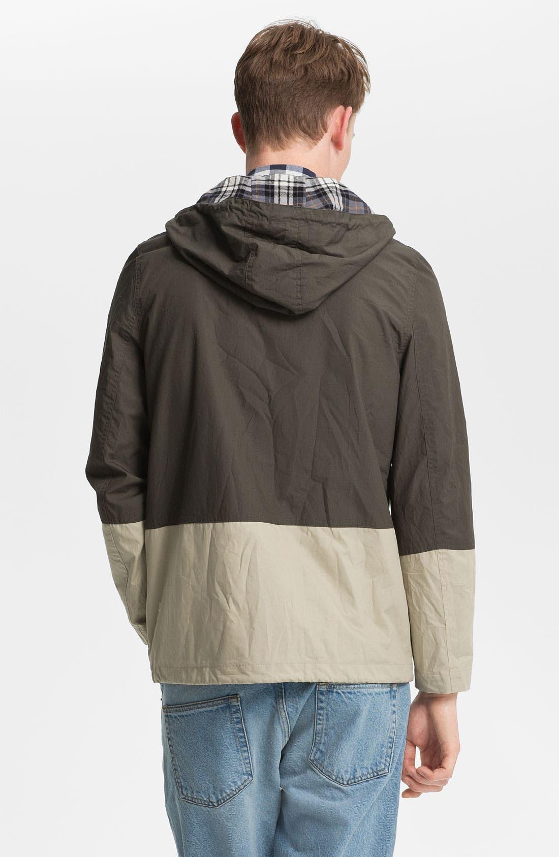 Alternate Image 2  - Topman Hooded Jacket