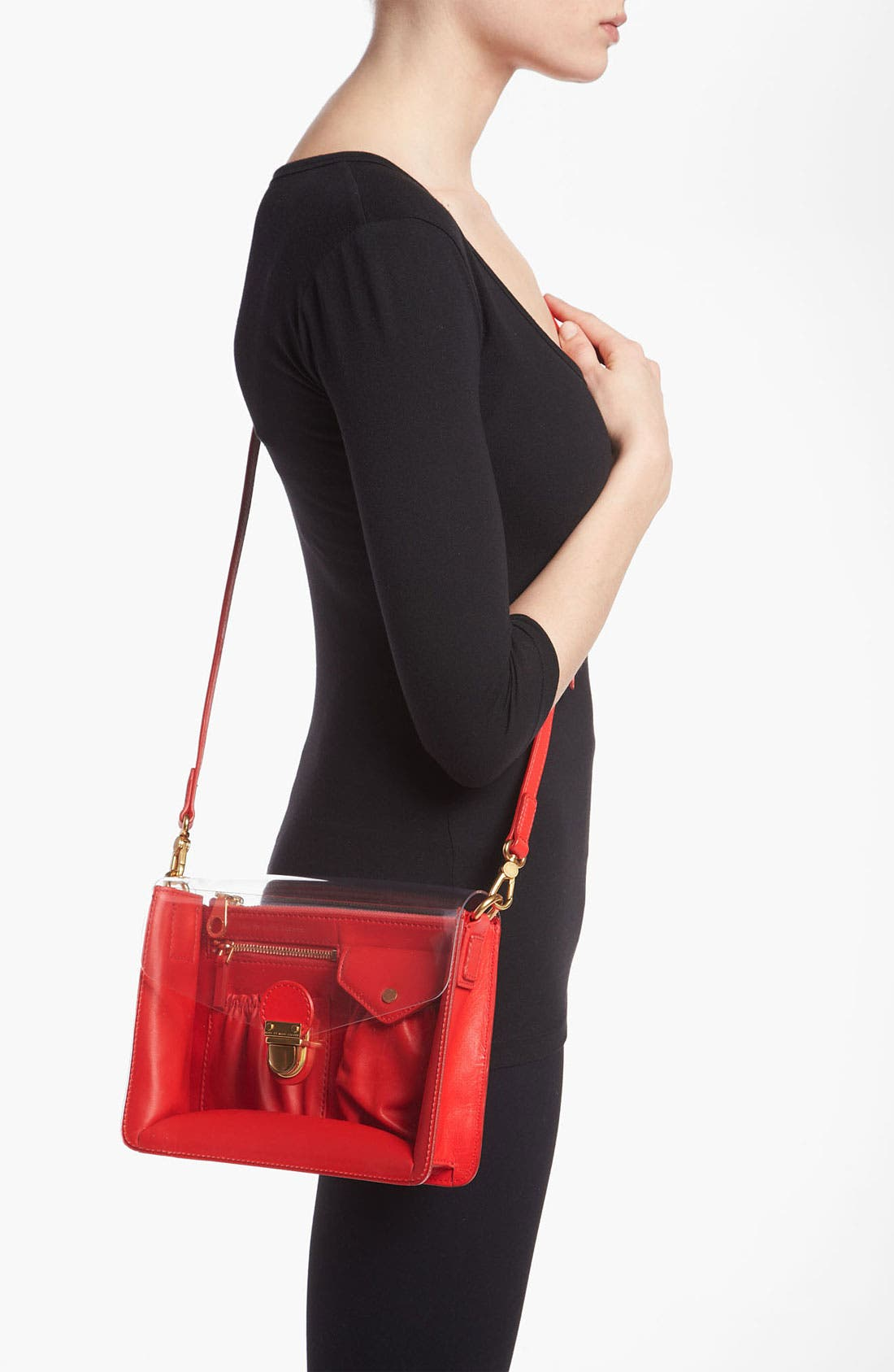 Alternate Image 2  - MARC BY MARC JACOBS 'Clearly' Crossbody Bag