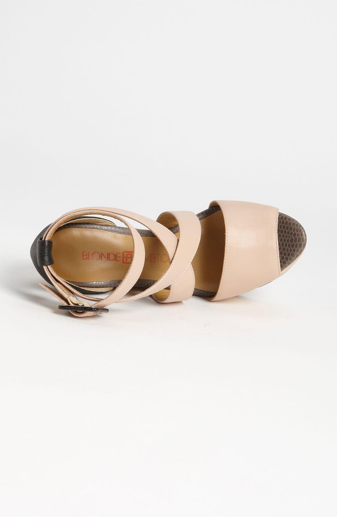 Alternate Image 3  - Blonde Ambition 'Naya' Sandal