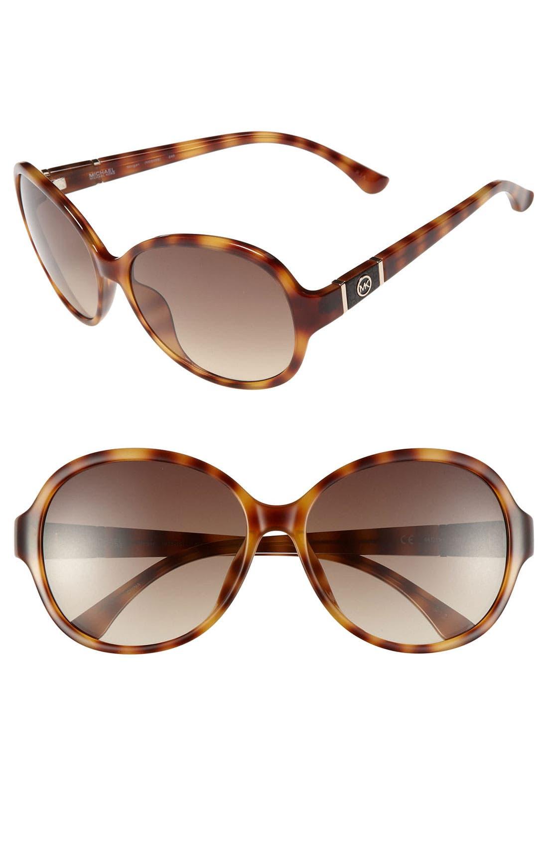 Alternate Image 1 Selected - MICHAEL Michael Kors 'Morgan' 58mm Sunglasses (Online Only)