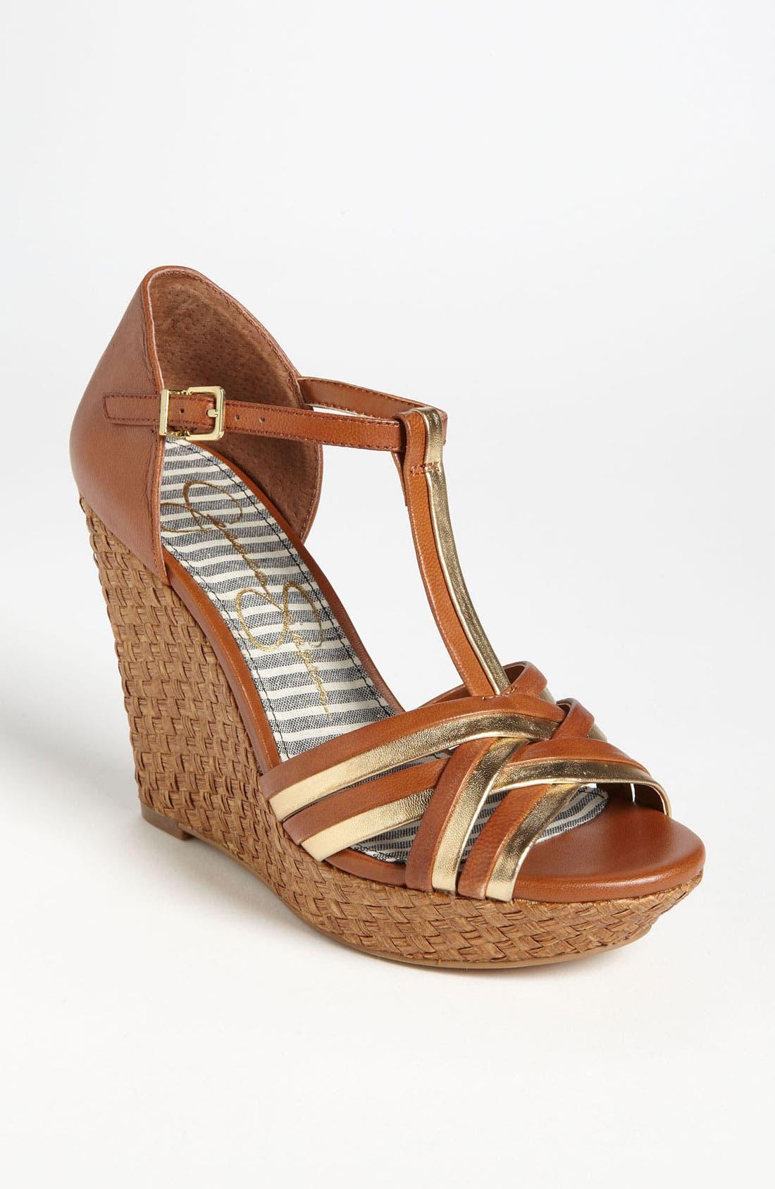 Main Image - Jessica Simpson 'Calista' Sandal (Nordstrom Exclusive)