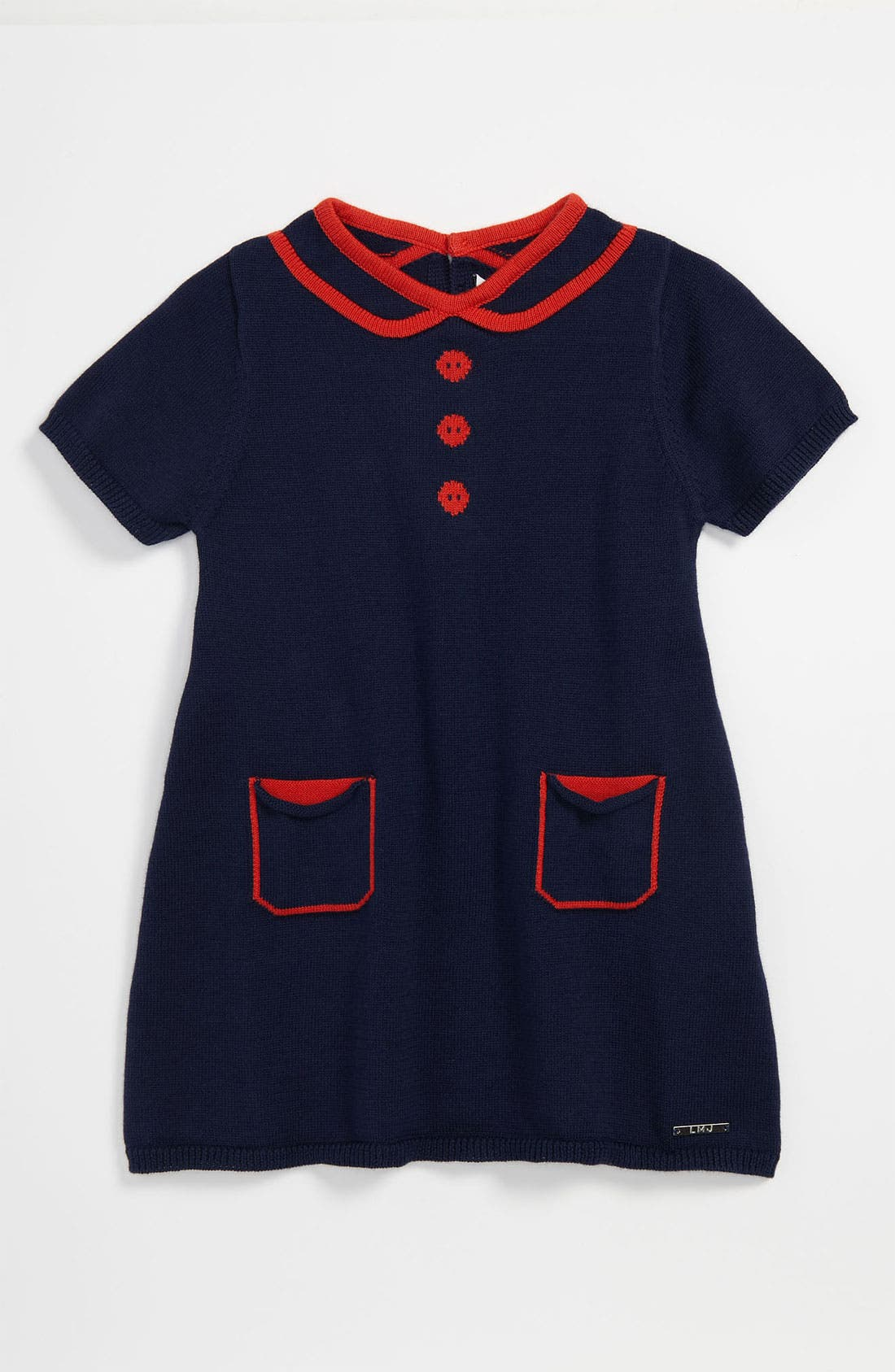 Alternate Image 1 Selected - LITTLE MARC JACOBS Knit Dress (Baby)