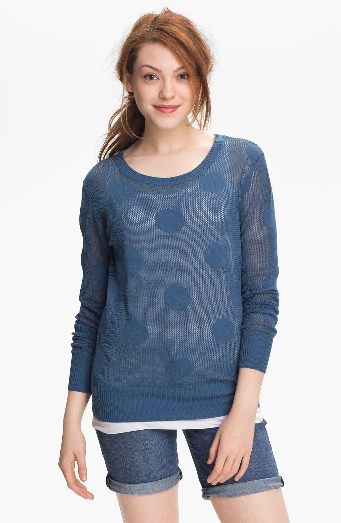 Main Image - Max & Mia Polka Dot Sweater