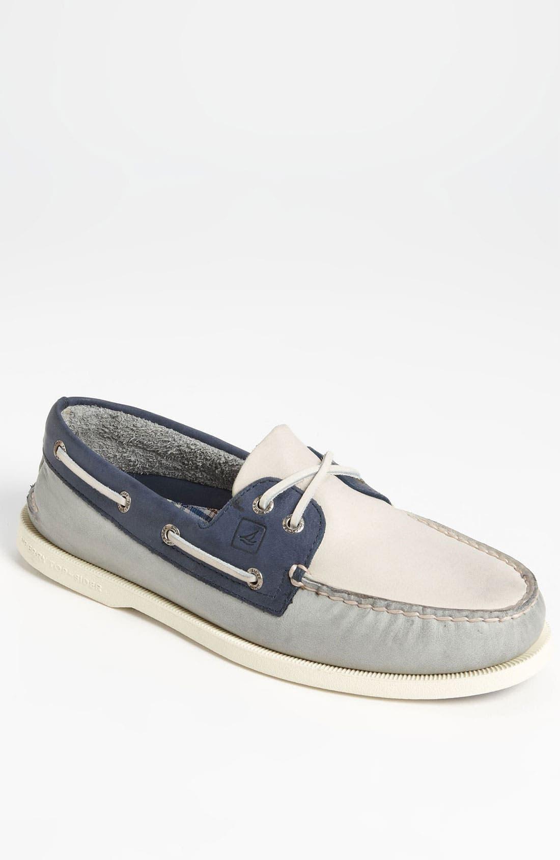 Main Image - Sperry Top-Sider® 'Authentic Original' Burnished Boat Shoe (Men)