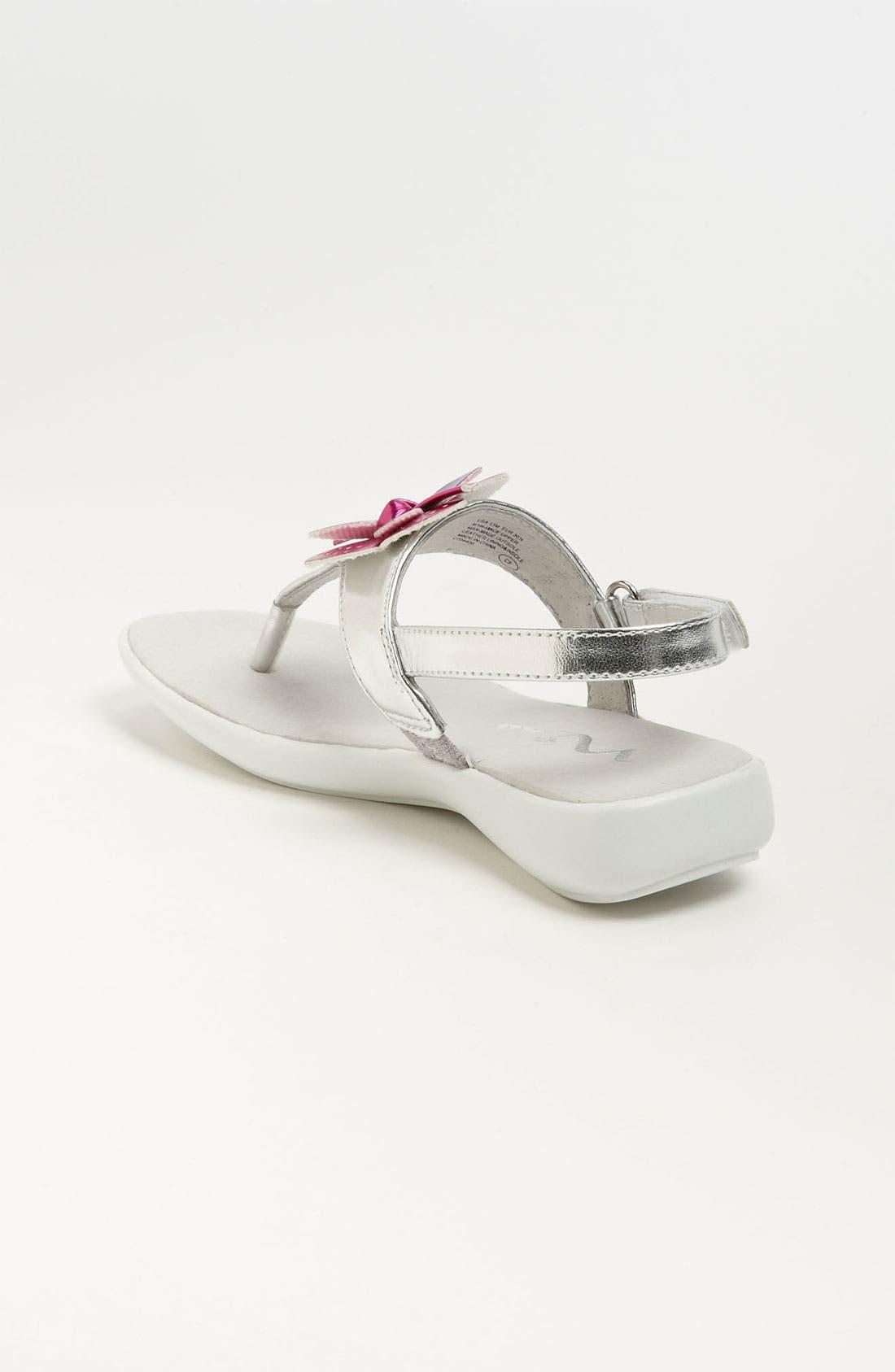 Alternate Image 2  - Nina 'Purly' Thong Sandal (Walker, Toddler & Little Kid)