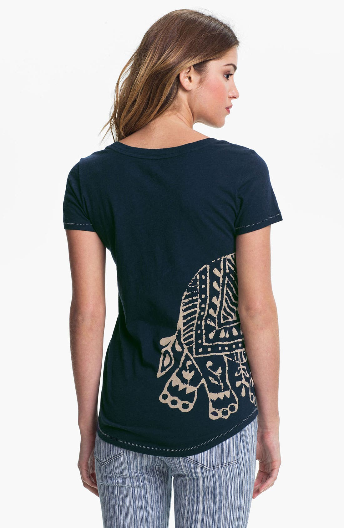 Alternate Image 2  - Lucky Brand 'Indian Elephant' Tee