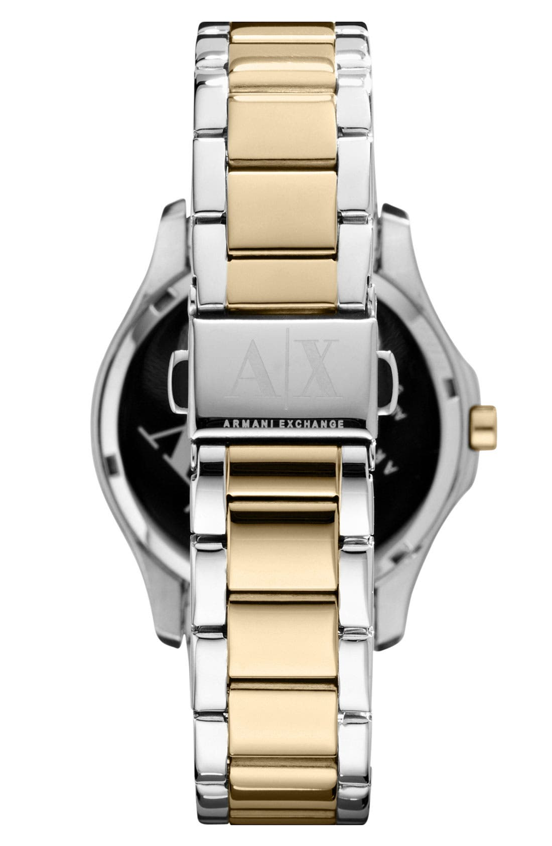 Alternate Image 2  - AX Armani Exchange Quilted Dial Bracelet Watch, 36mm (Online Only)
