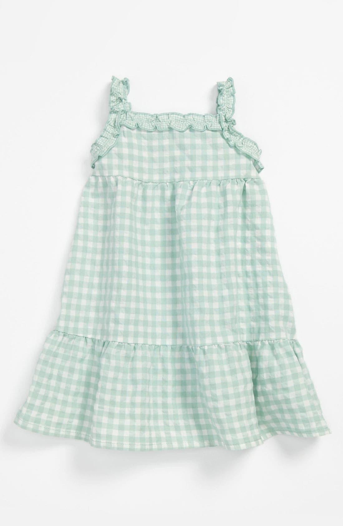 Main Image - United Colors of Benetton Kids Gingham Dress (Infant)