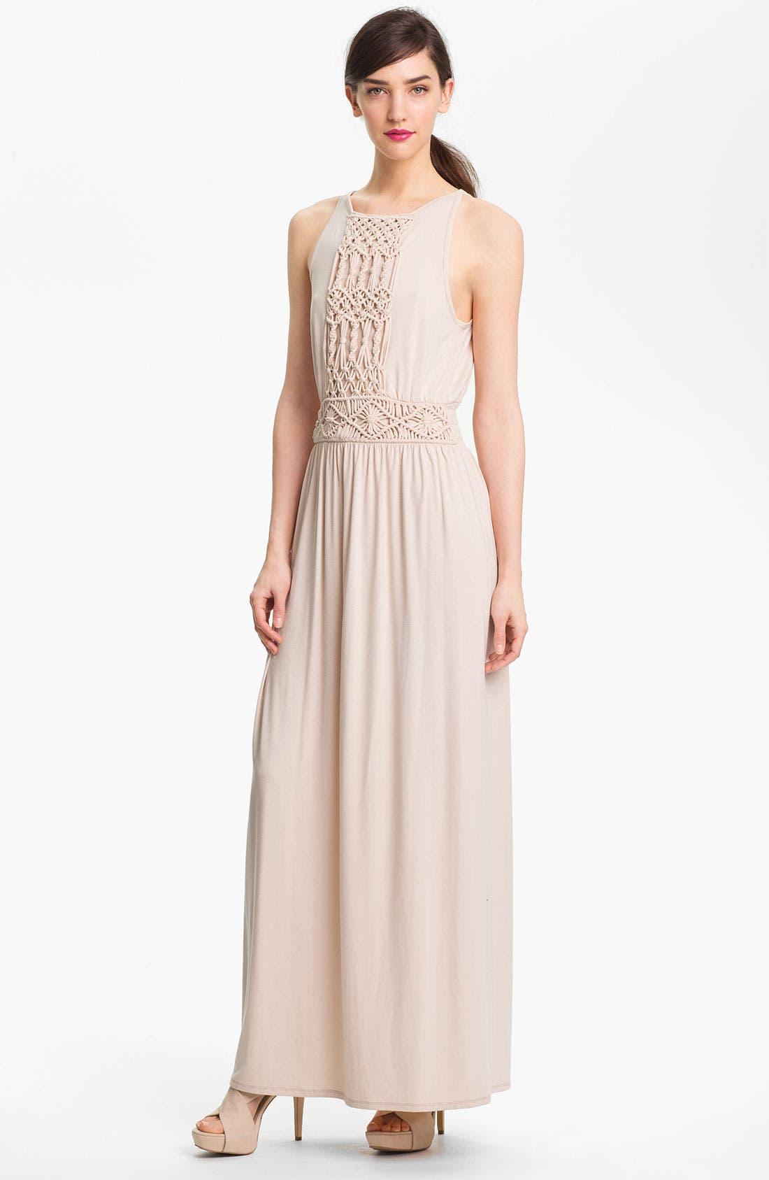 Alternate Image 1 Selected - Trina Turk 'Deidi' Stretch Maxi Dress