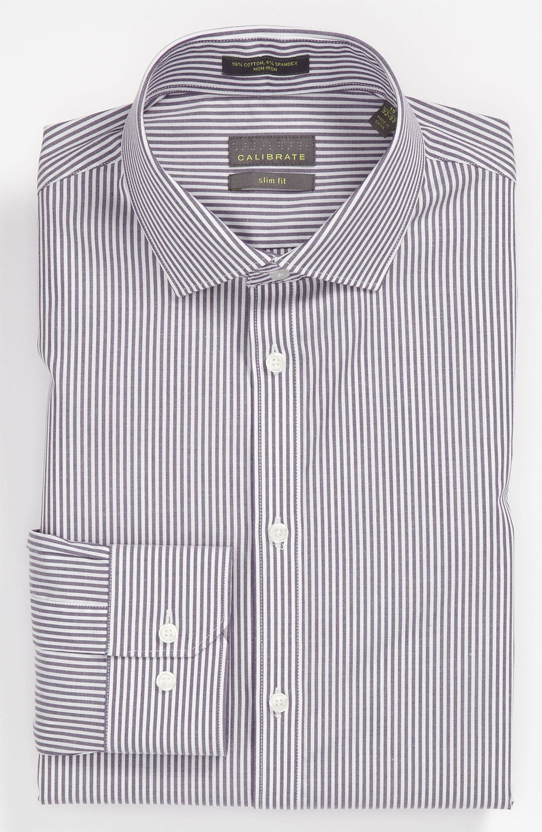 Main Image - Calibrate Slim Fit Non-Iron Dress Shirt