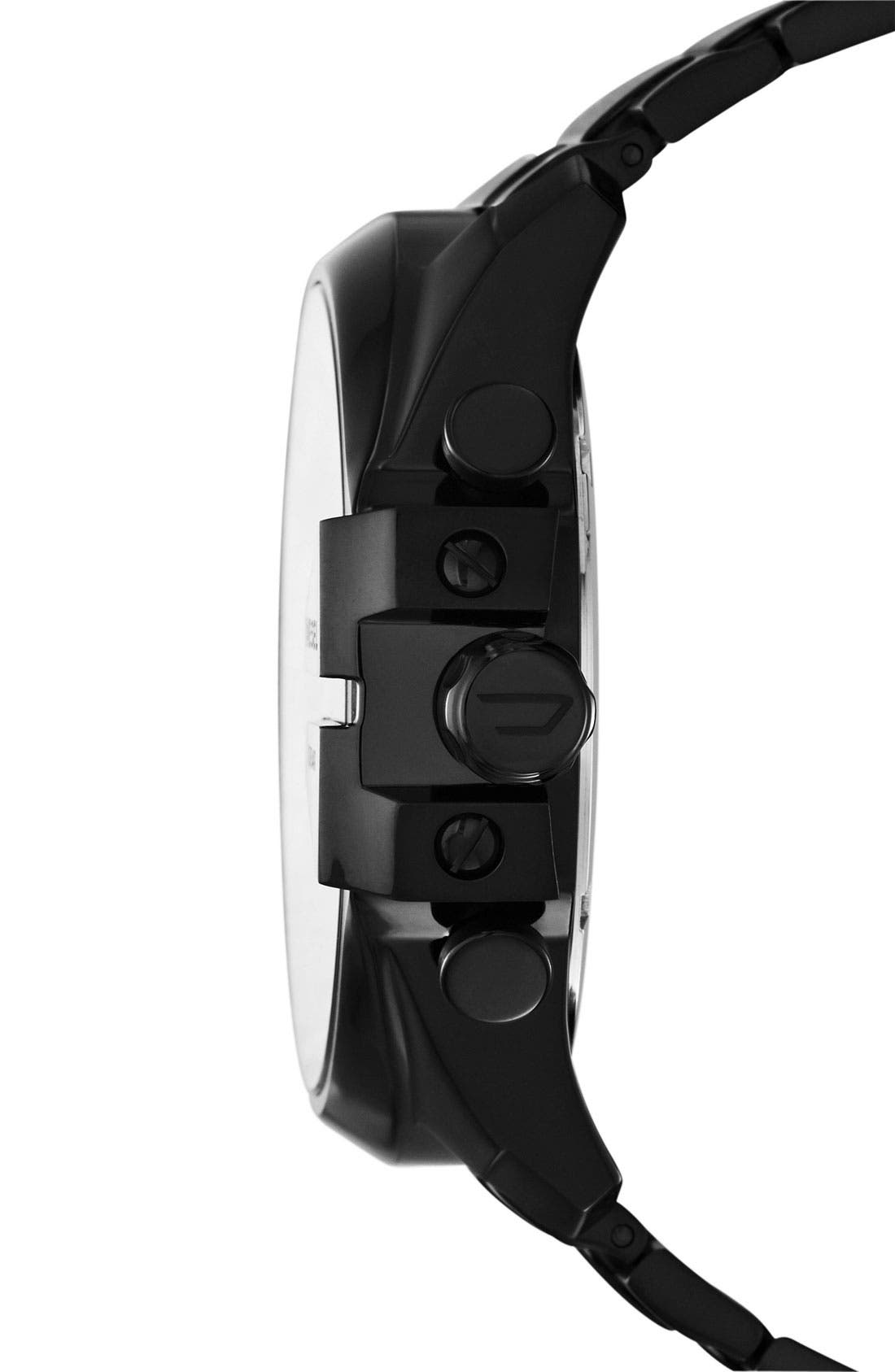 Alternate Image 2  - DIESEL® 'Mega Chief' Bracelet Watch, 51mm