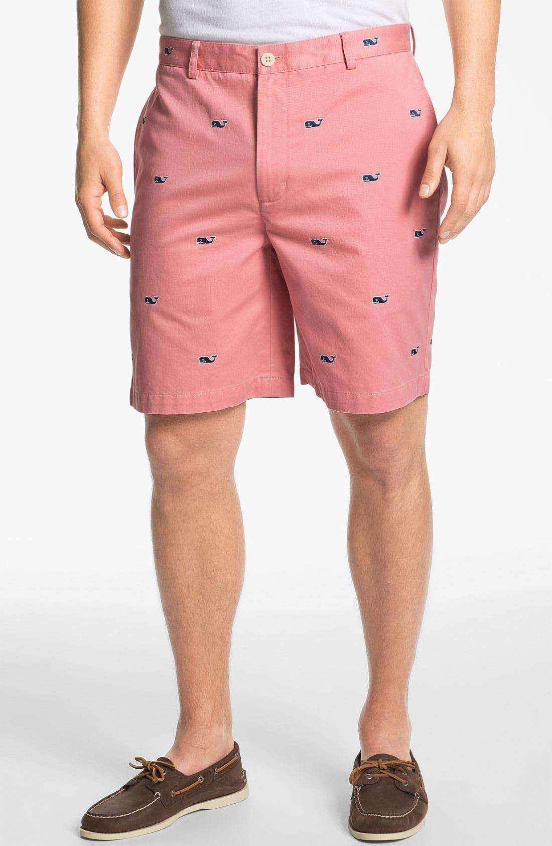 Alternate Image 1 Selected - Vineyard Vines Flat Front Shorts