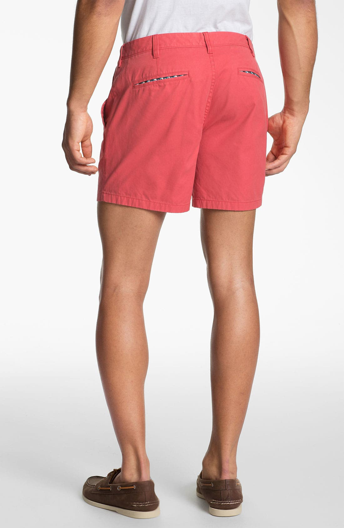 Alternate Image 2  - Bonobos Flat Front Chino Shorts