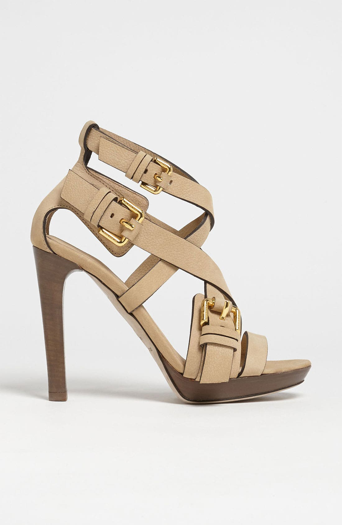 Alternate Image 4  - Burberry Buckle Detail Sandal