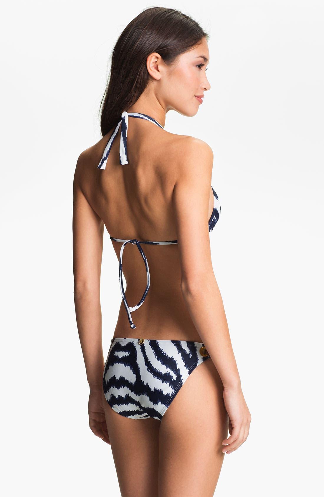 Alternate Image 4  - ViX Swimwear 'Cape Navy' Bikini Bottoms